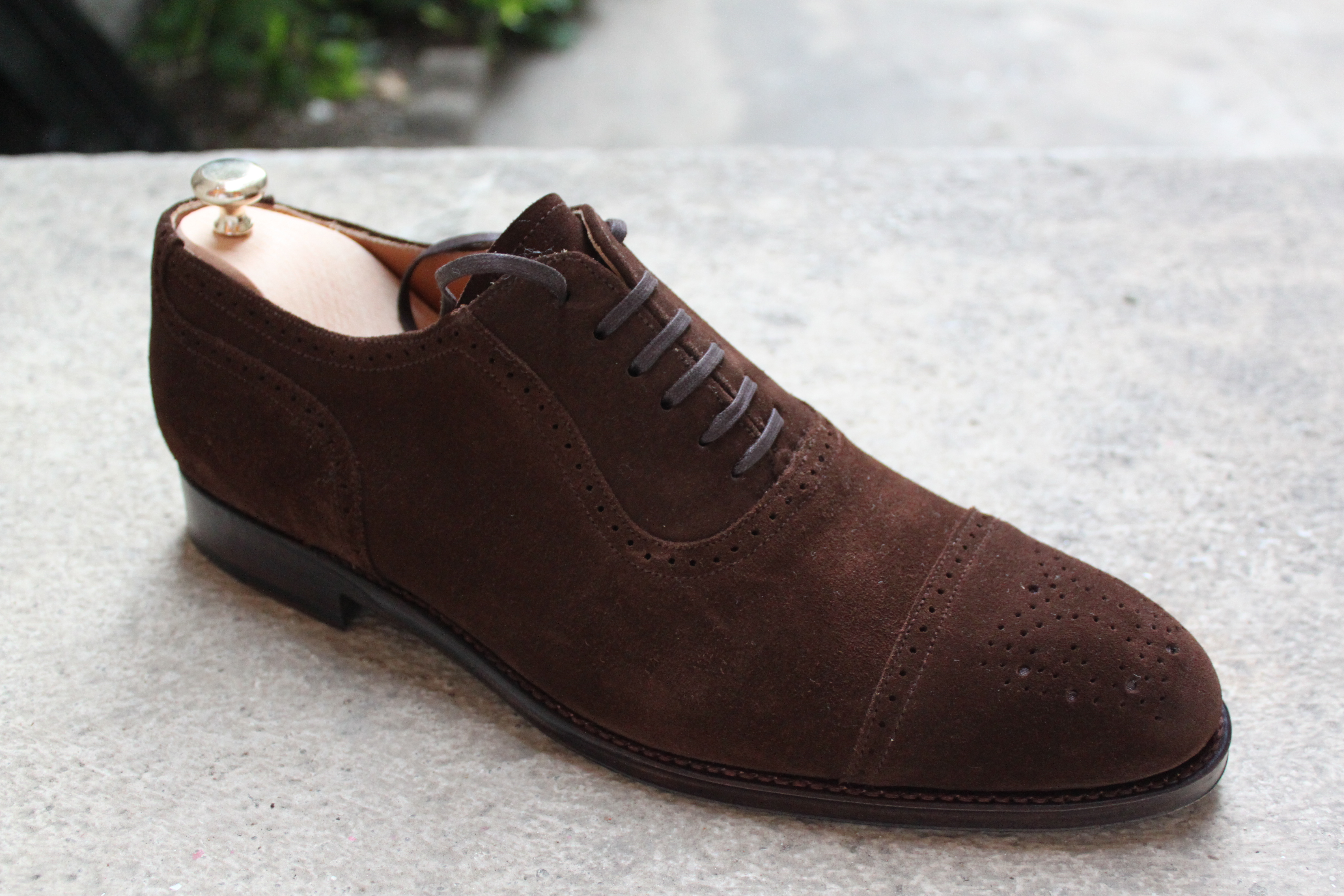 Suede Dress Shoes In Summer